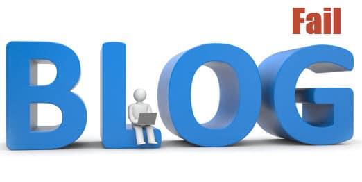 WHy Blog Fails