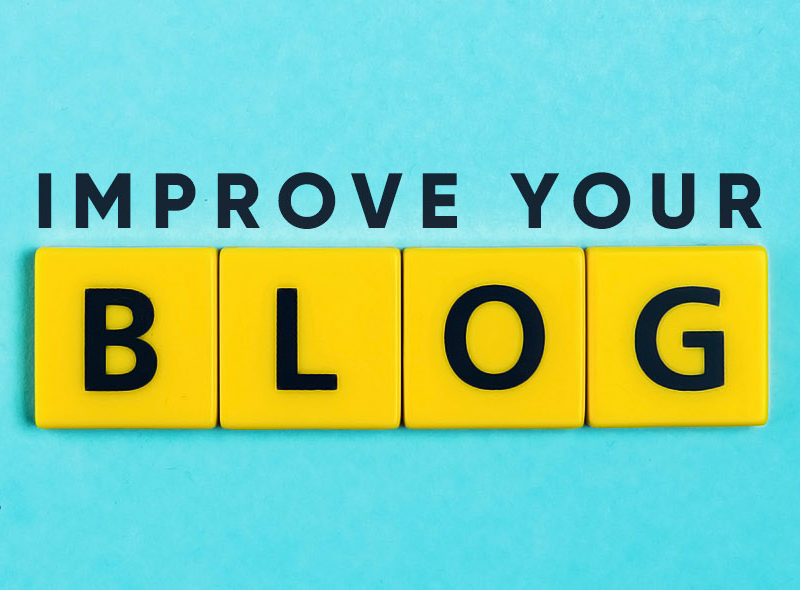 How to Improve your blog