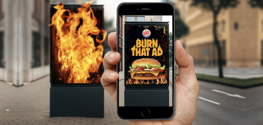 burger king augmented reality