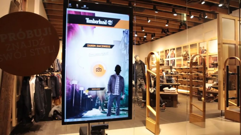 timberland augmented reality