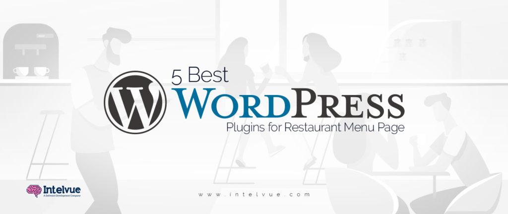 5 Best WordPress Plugins for Restaurant Menu Page in 2020