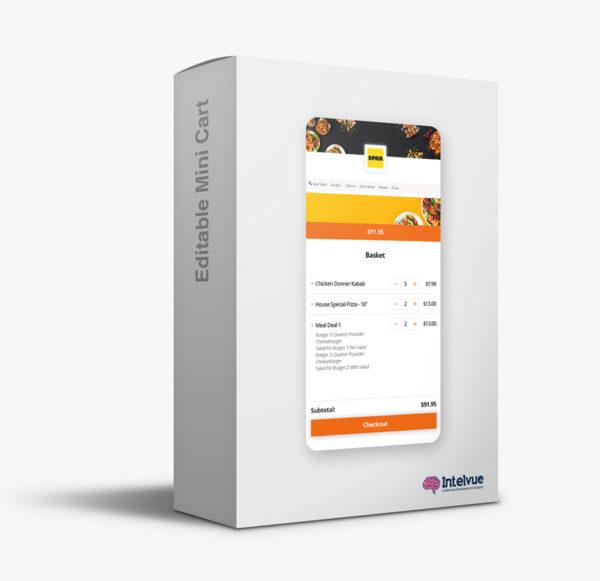 WooCommerce Editable Mini Cart