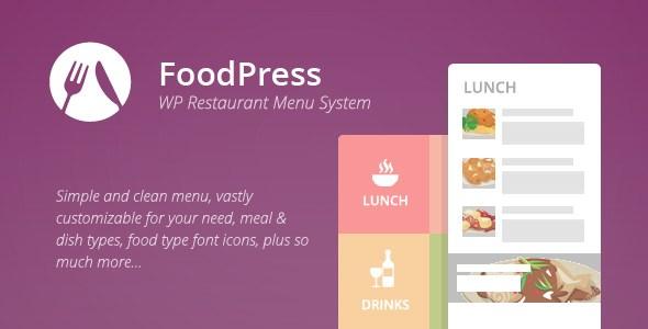FoodPress WP Restaurant Menu Plugin