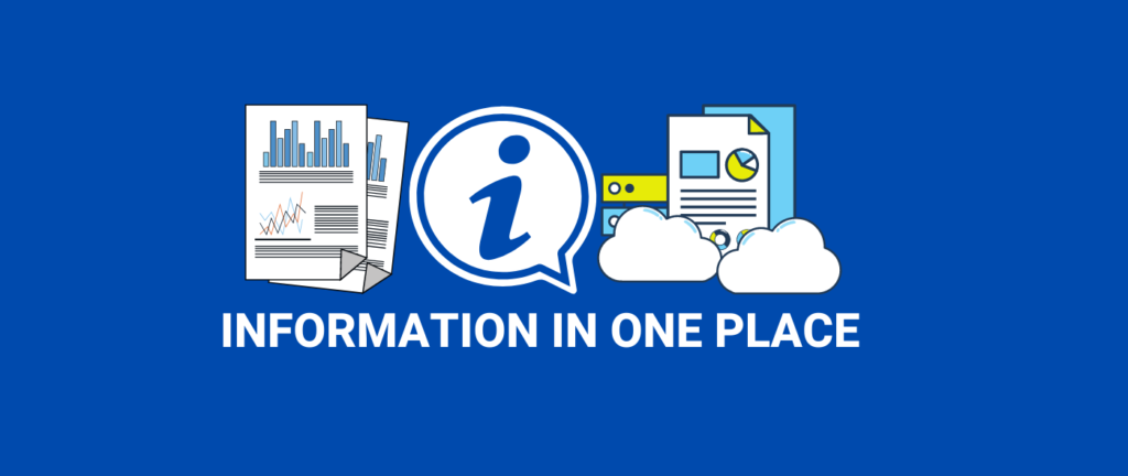 CRM Organizes all information in one place.