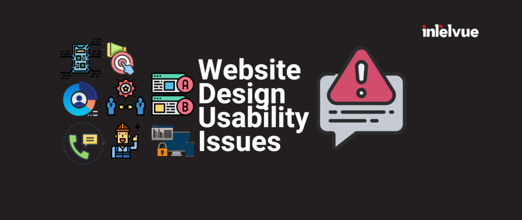 Website Design Usability Issues