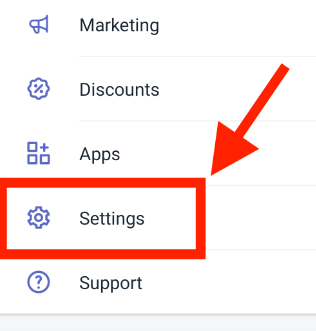 how to change shopify store name on mobile app step2