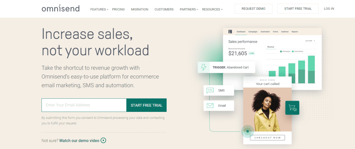 omnisend best email marketing app for shopify