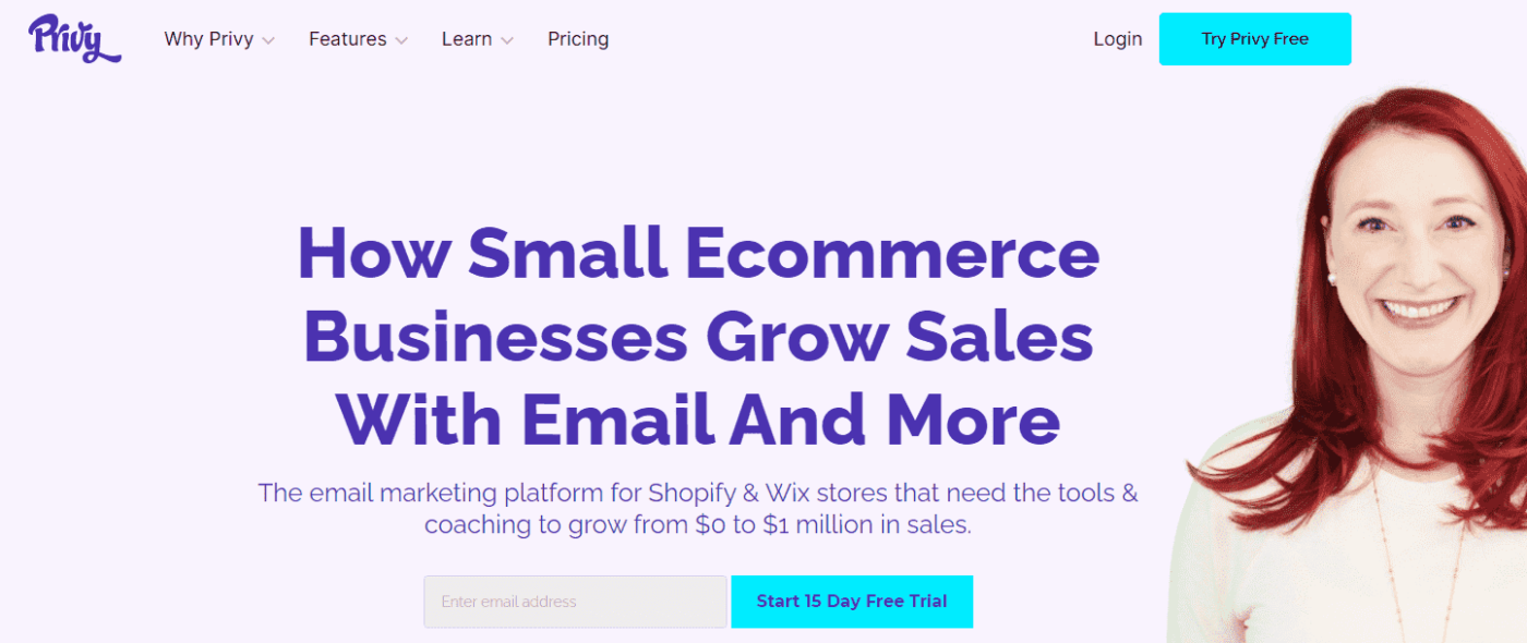 privy best email marketing for shopify