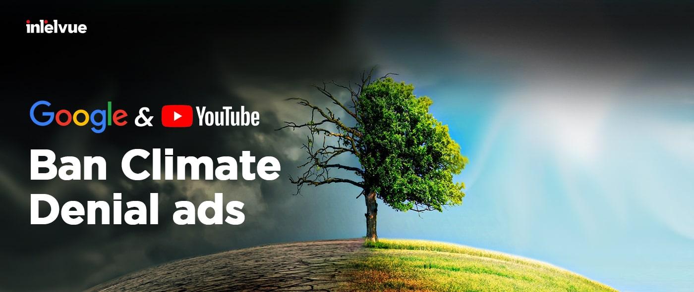 google climate change announcement